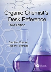 Organic Chemist's Desk Reference - 3rd Edition book cover