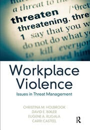 Workplace Violence - 1st Edition book cover