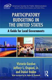Participatory Budgeting in the United States - 1st Edition book cover