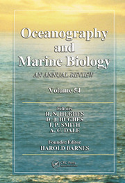 Oceanography and Marine Biology: An Annual Review, Volume 54