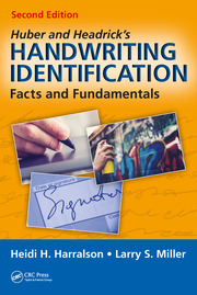Huber and Headrick's Handwriting Identification - 2nd Edition book cover