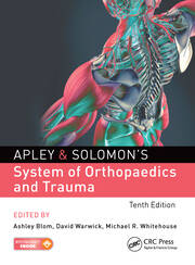 Apley & Solomon's System of Orthopaedics and Trauma - 10th Edition book cover