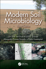 Modern Soil Microbiology, Third Edition - 3rd Edition book cover