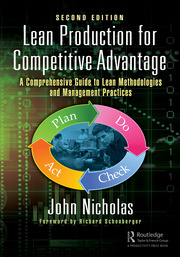 Lean Production for Competitive Advantage : A Comprehensive Guide to Lean Methodologies and Management Practices, Second Edition - 2nd Edition book cover