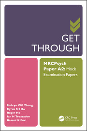 Get Through MRCPsych Paper A2 : Mock Examination Papers - 1st Edition book cover