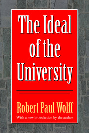The Ideal of the University - 1st Edition book cover
