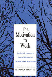 Motivation to Work - 1st Edition book cover