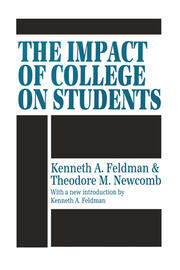 The Impact of College on Students - 1st Edition book cover