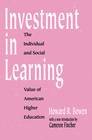 Investment in Learning - 1st Edition book cover