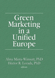 Green Marketing in a Unified Europe - 1st Edition book cover