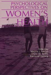 Psychological Perspectives On Women's Health - 1st Edition book cover