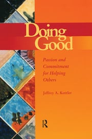 Doing Good - 1st Edition book cover