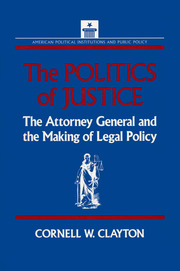The Politics of Justice - 1st Edition book cover
