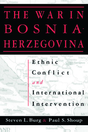 Ethnic Conflict and International Intervention: Crisis in Bosnia-Herzegovina, 1990-93 - 1st Edition book cover