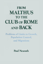 From Malthus to the Club of Rome and Back - 1st Edition book cover