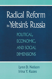 Radical Reform in Yeltsin's Russia: What Went Wrong? - 1st Edition book cover