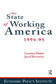 The State of Working America - 3rd Edition book cover