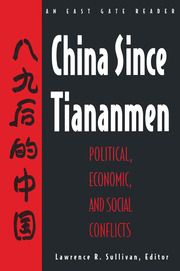 China Since Tiananmen - 1st Edition book cover