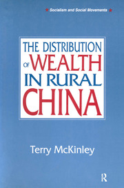 The Distribution of Wealth in Rural China - 1st Edition book cover