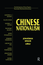 Chinese Nationalism - 1st Edition book cover