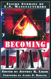 Becoming Lean - 1st Edition book cover