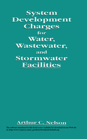 System Development Charges for Water, Wastewater, and Stormwater Facilities