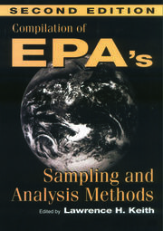 Compilation of EPA's Sampling and Analysis Methods