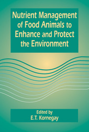 Nutrient Management of Food Animals to Enhance and Protect the Environment