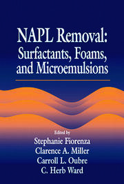 NAPL Removal Surfactants, Foams, and Microemulsions - 1st Edition book cover