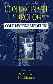 Contaminant Hydrology: Cold Regions Modeling
