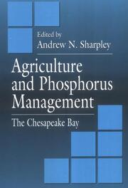 Agriculture and Phosphorus Management: The Chesapeake Bay