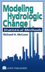 Modeling Hydrologic Change: Statistical Methods