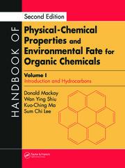 Handbook of Physical-Chemical Properties and Environmental Fate for Organic Chemicals