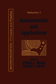 Fundamentals and Applications of Bioremediation - 1st Edition book cover