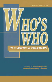 Who's Who in Plastics Polymers - 1st Edition book cover