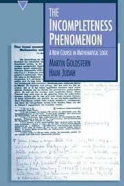 The Incompleteness Phenomenon - 1st Edition book cover