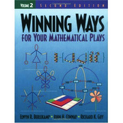 Winning Ways for Your Mathematical Plays, Volume 2 - 2nd Edition book cover