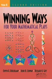 Winning Ways for Your Mathematical Plays, Volume 4 - 2nd Edition book cover