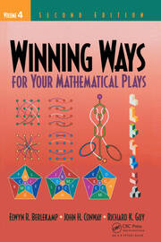 Winning Ways for Your Mathematical Plays, Volume 4