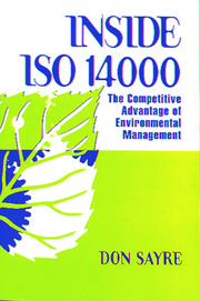INSDE ISO 14000: The Competitive Advantage of Environmental Management