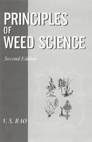 Principles of Weed Science - 2nd Edition book cover