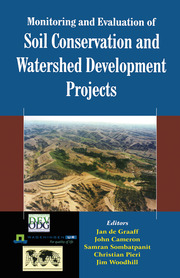 Monitoring and Evaluation of Soil Conservation and Watershed Development Projects - 1st Edition book cover