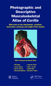 Photographic and Descriptive Musculoskeletal Atlas of Gorilla: With Notes on the Attachments, Variations, Innervation, Synonymy and Weight of the Muscles
