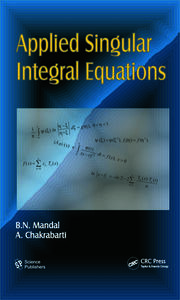 Applied Singular Integral Equations - 1st Edition book cover