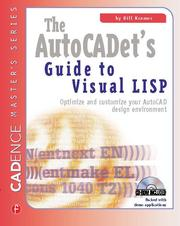 The AutoCADET's Guide to Visual LISP - 1st Edition book cover
