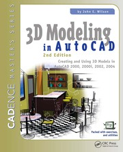 3D Modeling in AutoCAD - 2nd Edition book cover