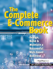 The Complete E-Commerce Book: Design, Build & Maintain a Successful Web-based Business