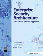 Enterprise Security Architecture - 1st Edition book cover