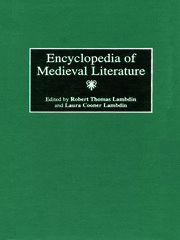 Encyclopedia of Medieval Literature - 1st Edition book cover