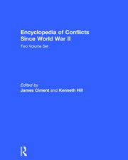 Encyclopedia of Conflicts since World War II - 1st Edition book cover